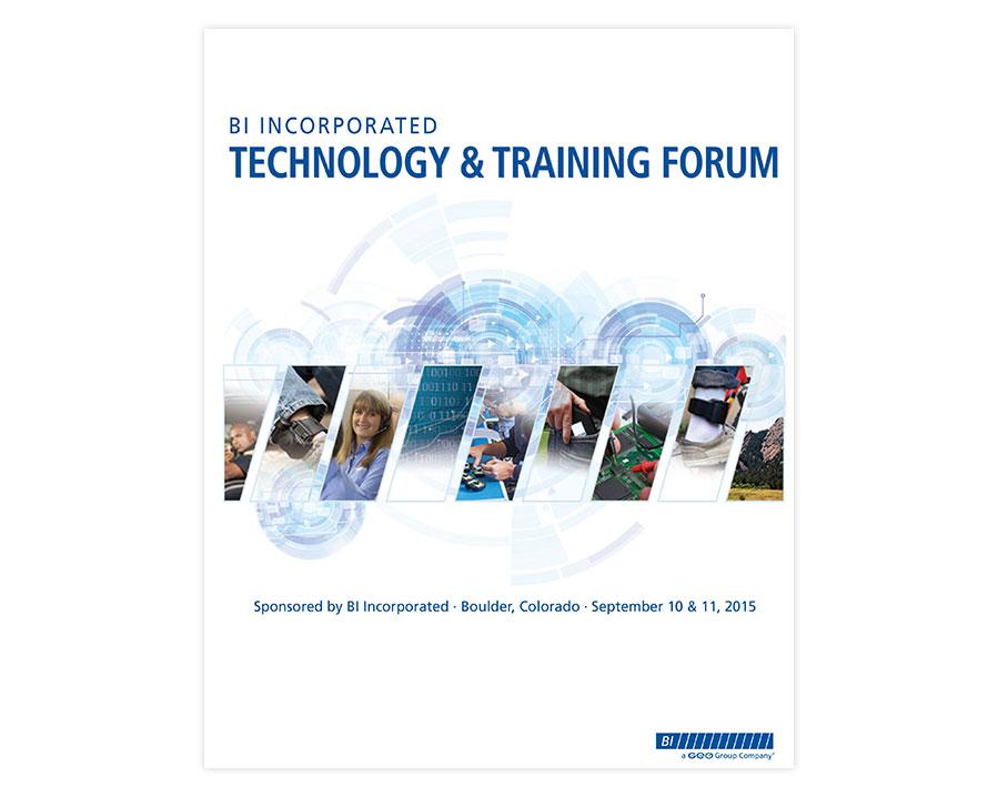 BI Tech Forum Booklet Cover